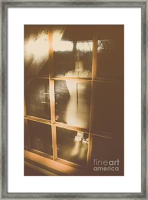 Vintage Dressmakers Store Framed Print by Jorgo Photography - Wall Art Gallery