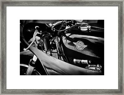 Vintage Ducati Racer Framed Print
