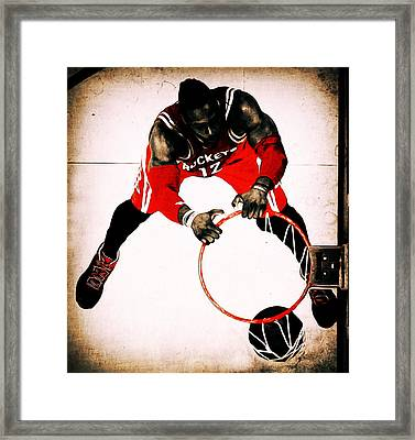 Vintage Dwight Howard Framed Print