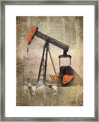Vintage Enterprise Framed Print by Betty LaRue