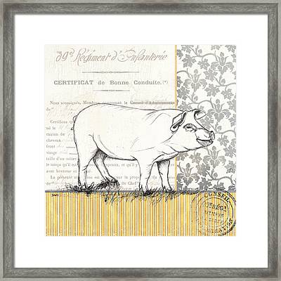 Vintage Farm 2 Framed Print