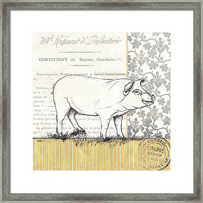 Vintage Farm 2 Framed Print by Debbie DeWitt
