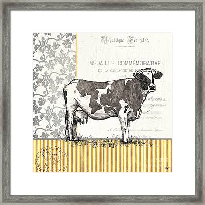 Vintage Farm 4 Framed Print