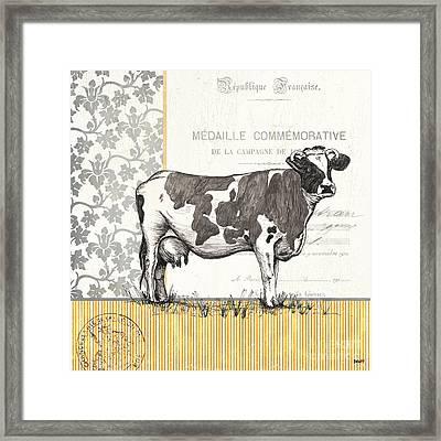 Vintage Farm 4 Framed Print by Debbie DeWitt