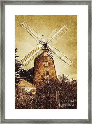 Vintage Flour Mill Framed Print by Jorgo Photography - Wall Art Gallery