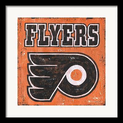 Flyers Hockey Framed Prints