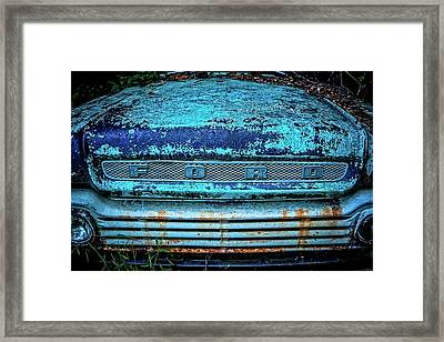 Vintage Ford Pick Up Framed Print