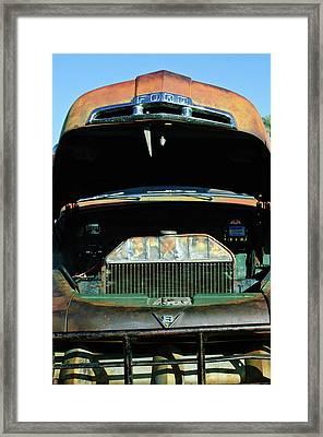 Vintage Ford Pickup Truck Framed Print