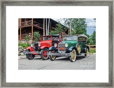 Vintage Ford's Framed Print