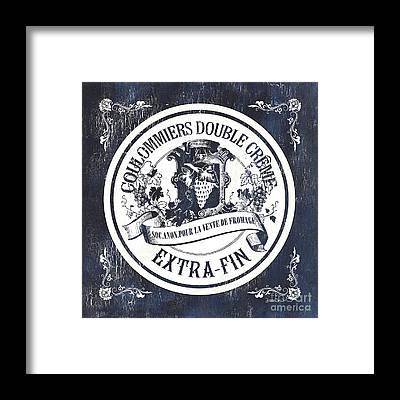Label Framed Prints
