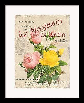 Botanical Mixed Media Framed Prints