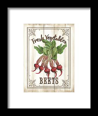 Beet Framed Prints