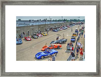 Vintage Gasoline Alley  Framed Print