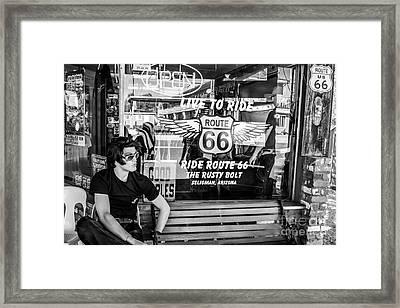 Vintage General Store Framed Print