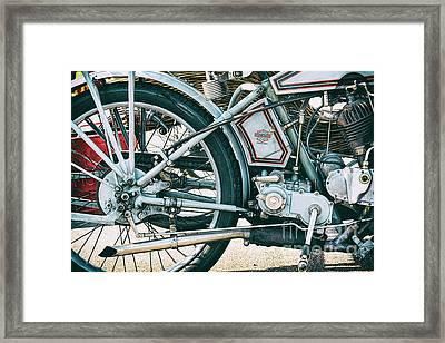 Vintage Harley Davidson 11f Framed Print