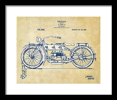 Invention Framed Prints