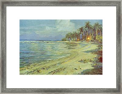 Vintage Hawaiian Art Framed Print by Hawaiian Legacy Archive - Printscapes