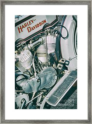 Vintage Hd 11f Framed Print