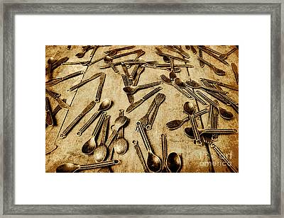 Vintage Kitchenware Framed Print by Jorgo Photography - Wall Art Gallery