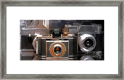 Vintage Kodak Bantam Framed Print by Steven Digman