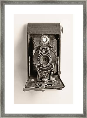 Vintage Kodak Camera Framed Print