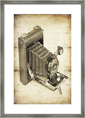 Vintage Kodak Framed Print by Svetlana Sewell