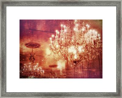 Vintage Light Framed Print by JAMART Photography