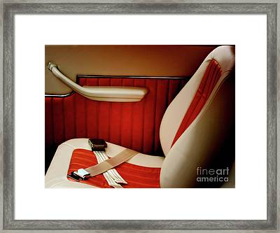 Vintage Luxury  Framed Print by Steven  Digman