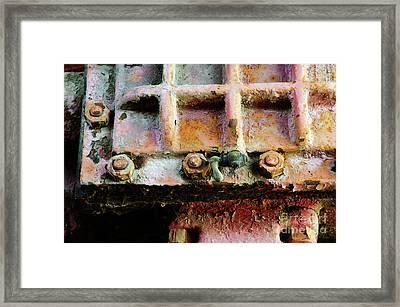 Vintage Machinery 3 Framed Print
