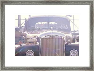 Vintage Mack Framed Print by Don Youngclaus