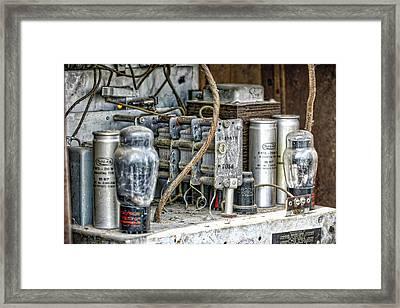 Vintage Marconi Framed Print by Irwin Seidman