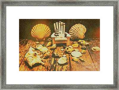 Vintage Marine Scene Framed Print by Jorgo Photography - Wall Art Gallery