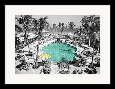 Pool Framed Prints