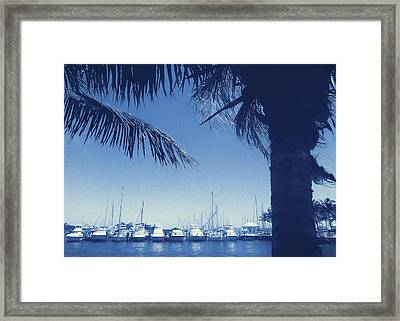Vintage Miami Framed Print by JAMART Photography