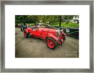 Framed Print featuring the photograph Vintage Motors by Adrian Evans