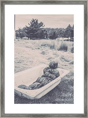 Vintage Murders Framed Print