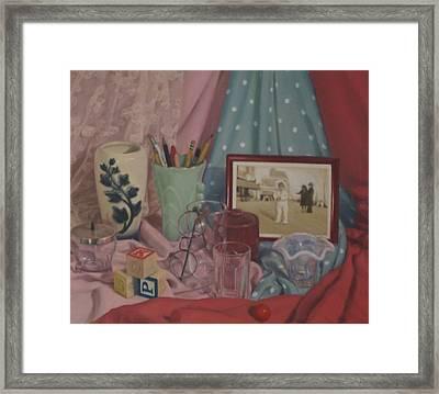 Vintage Objects Framed Print