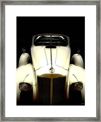 Vintage Packard Convertible  Framed Print by Steven Digman