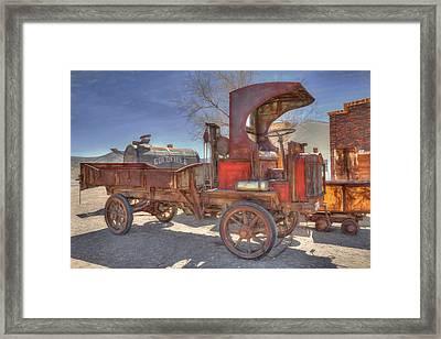 Vintage Packard Truck Framed Print
