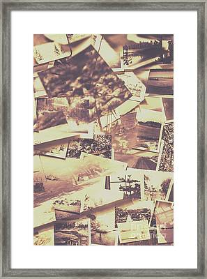 Vintage Photo Design Abstract Background Framed Print by Jorgo Photography - Wall Art Gallery