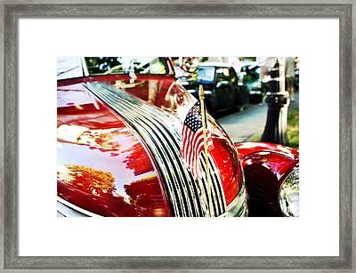 Vintage Pontiac Framed Print