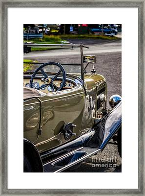 Vintage Reflections Framed Print by Adrian Evans