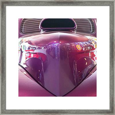 Framed Print featuring the photograph Vintage Reflections  by Jeanne May