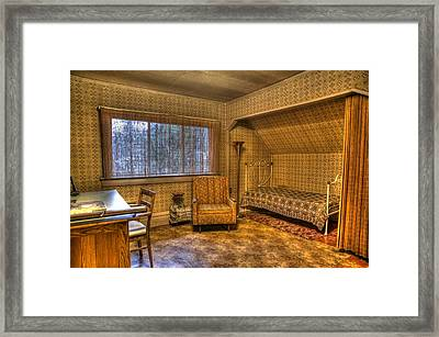 Vintage Room Framed Print by Jason Evans