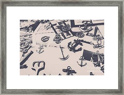 Vintage Sailing Art Framed Print
