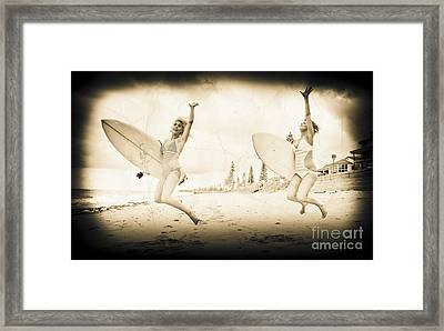 Vintage Sport Photograph Framed Print by Jorgo Photography - Wall Art Gallery