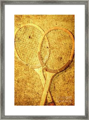 Vintage Sports Framed Print by Jorgo Photography - Wall Art Gallery