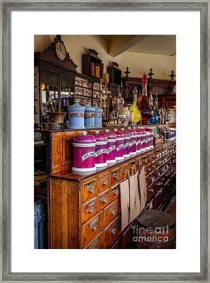 Vintage Store Framed Print by Adrian Evans