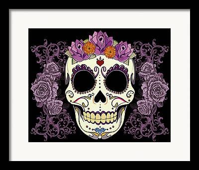 Purple Rose Framed Prints