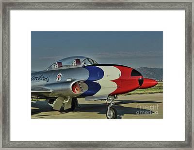 Vintage Thunderbird Framed Print